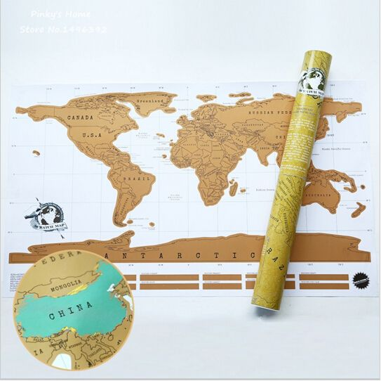 Free shipping 1piece scratch off map travel scratch map 88x52 cm free shipping 1piece scratch off map travel scratch map 88x52 cm world map gumiabroncs Image collections