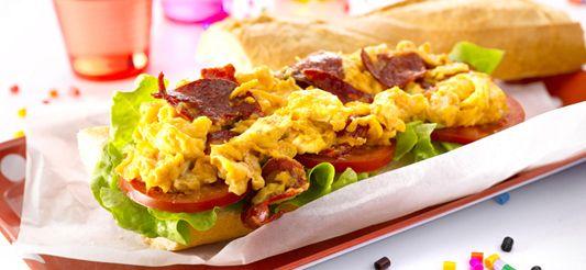 Delhaize - Gekke sandwich