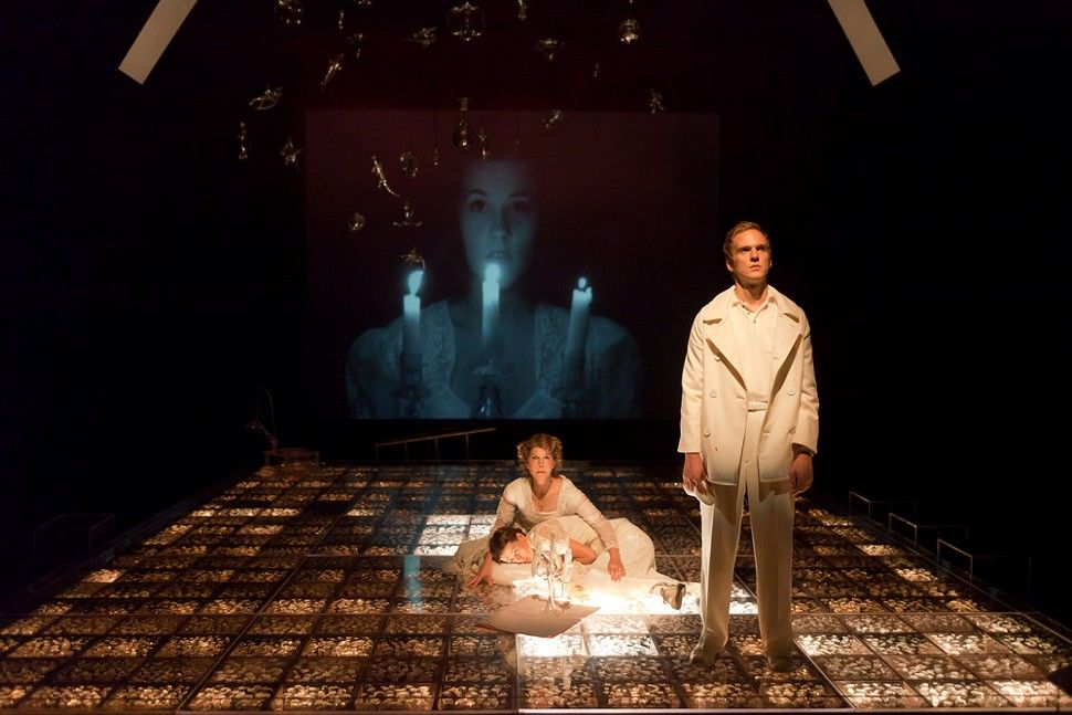 Indy Week   Image Archives   Triad Stage's The Glass Menagerie is an amazing fusion of theater, film and video