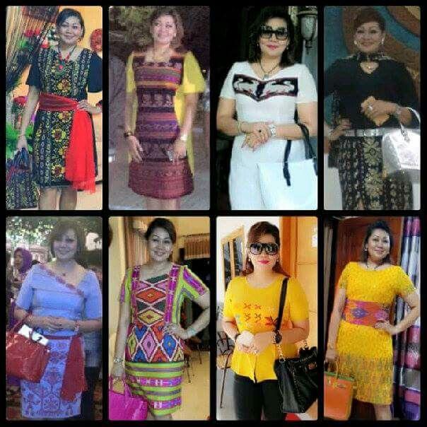Tenun ikat NTT | Batik dan Tenun Ikat | Batik dress ...