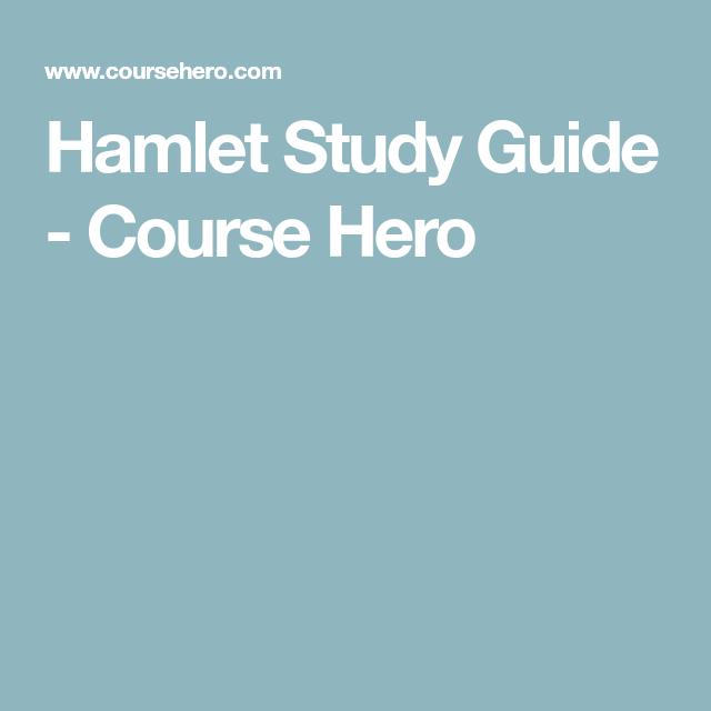 Hamlet Plot Summary Plot Diagram