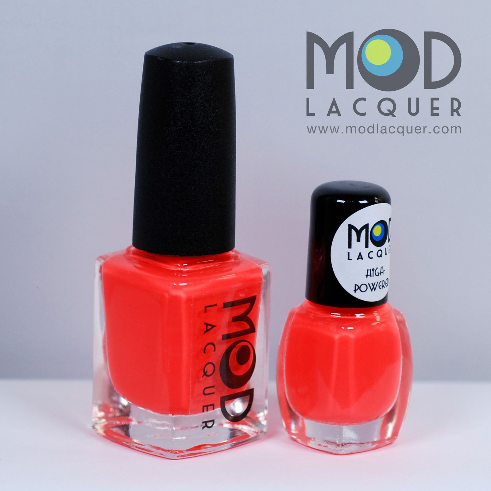 High-Powered Neon Red Nail Polish - Electrified Collection www ...