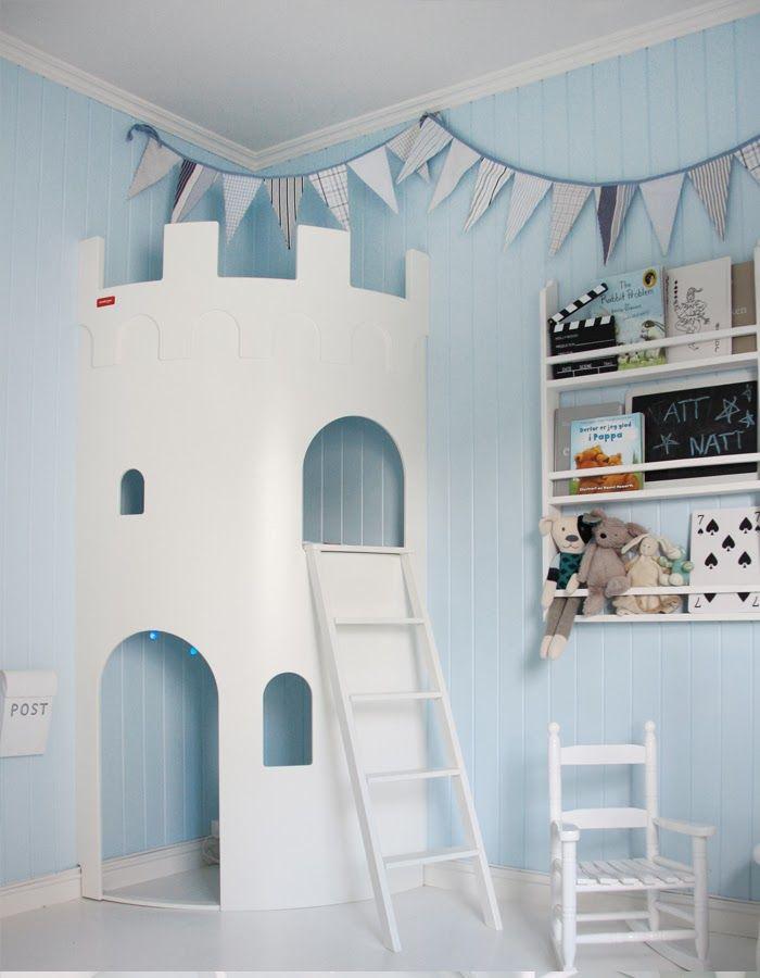 chambre garcon inspiration bleu pastel les chateaux. Black Bedroom Furniture Sets. Home Design Ideas