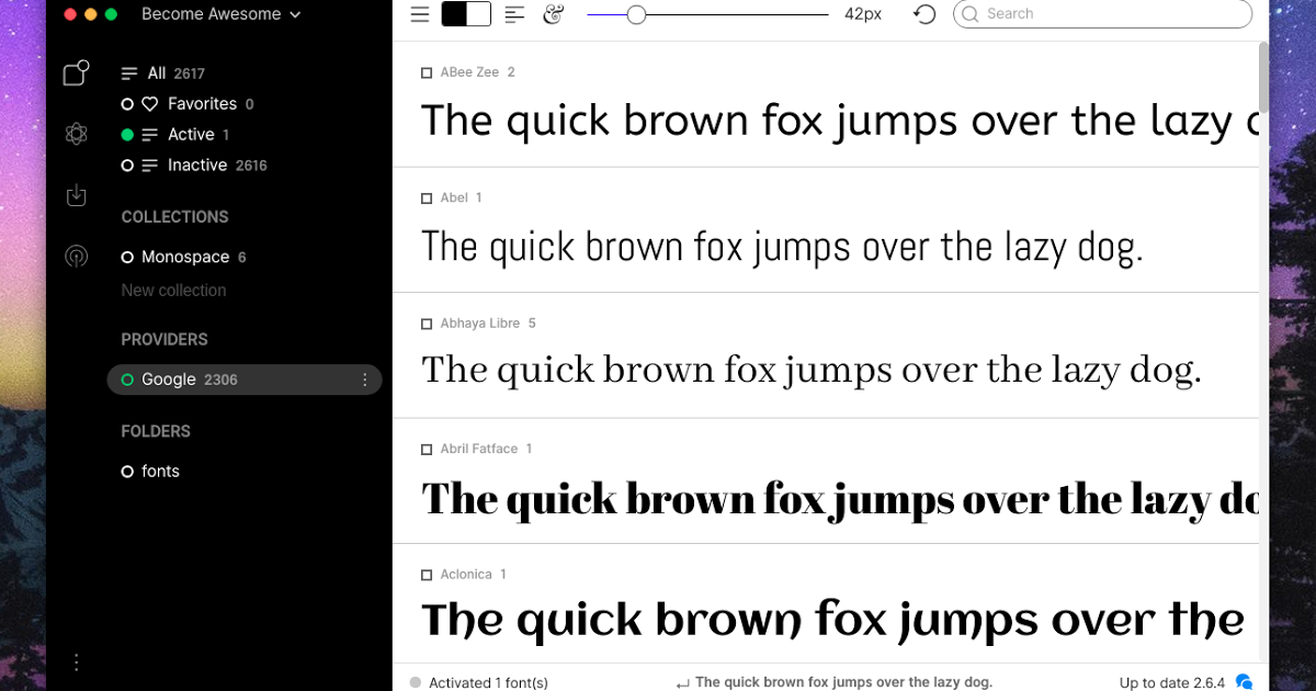 FontBase Is A Beautiful Font Manager For Designers With Mac
