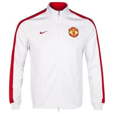 8071f3403fe manutd Authentic N98 Jacket-White