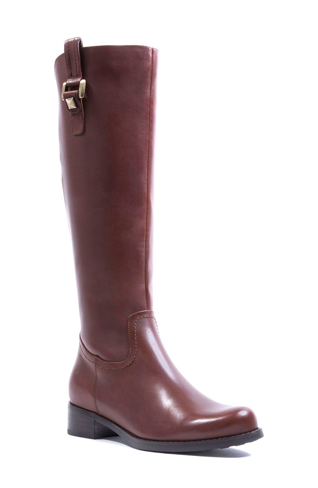 Blondo 'Velvet' Waterproof Riding Boot (Women) (Regular - 6.5 regular calf
