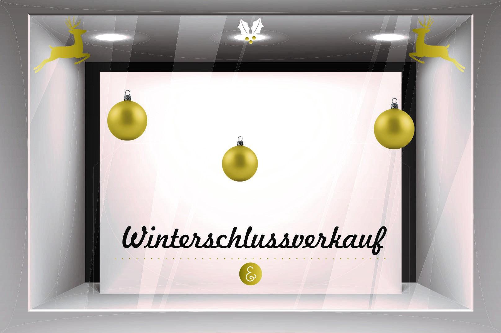 Großartig Schaufensterdekoration Beispiele Referenz Von Mit Attraktiver Durchs Weihnachtsgeschäft. Egal Ob Weihnachtliche