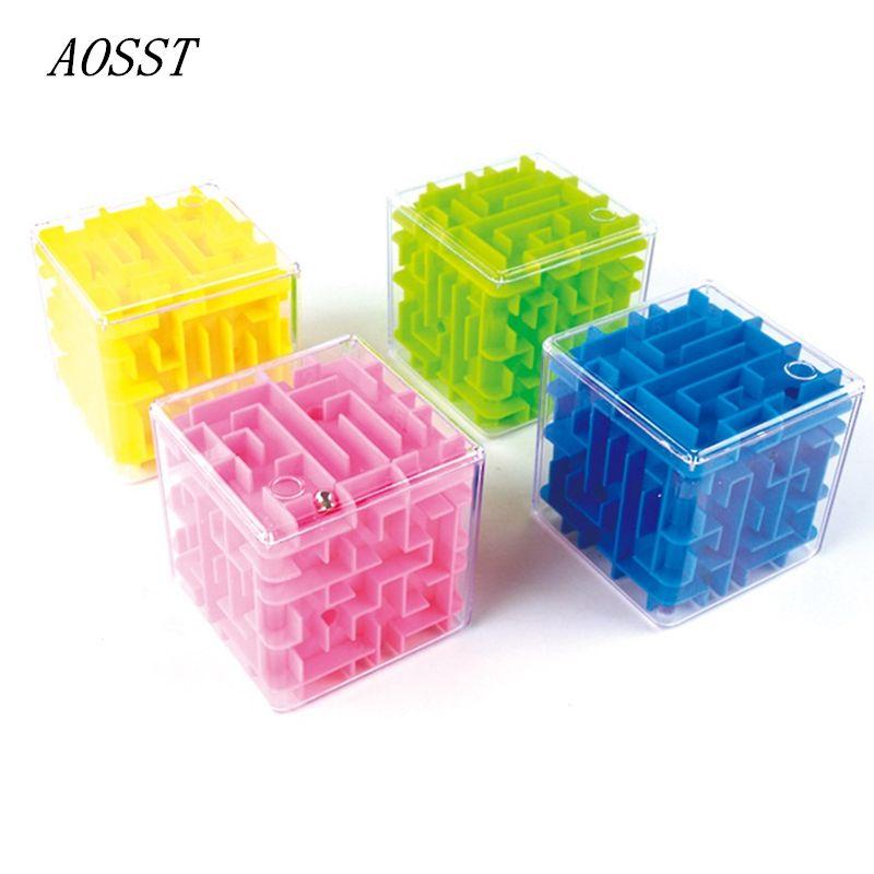 Kinder Math Lernspielzeug Intelligenz Cube Spielzeug Puzzle