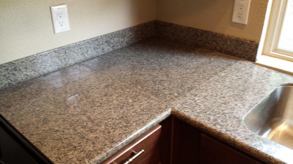 Antique Brown Granite Tile Countertops Granite Tile
