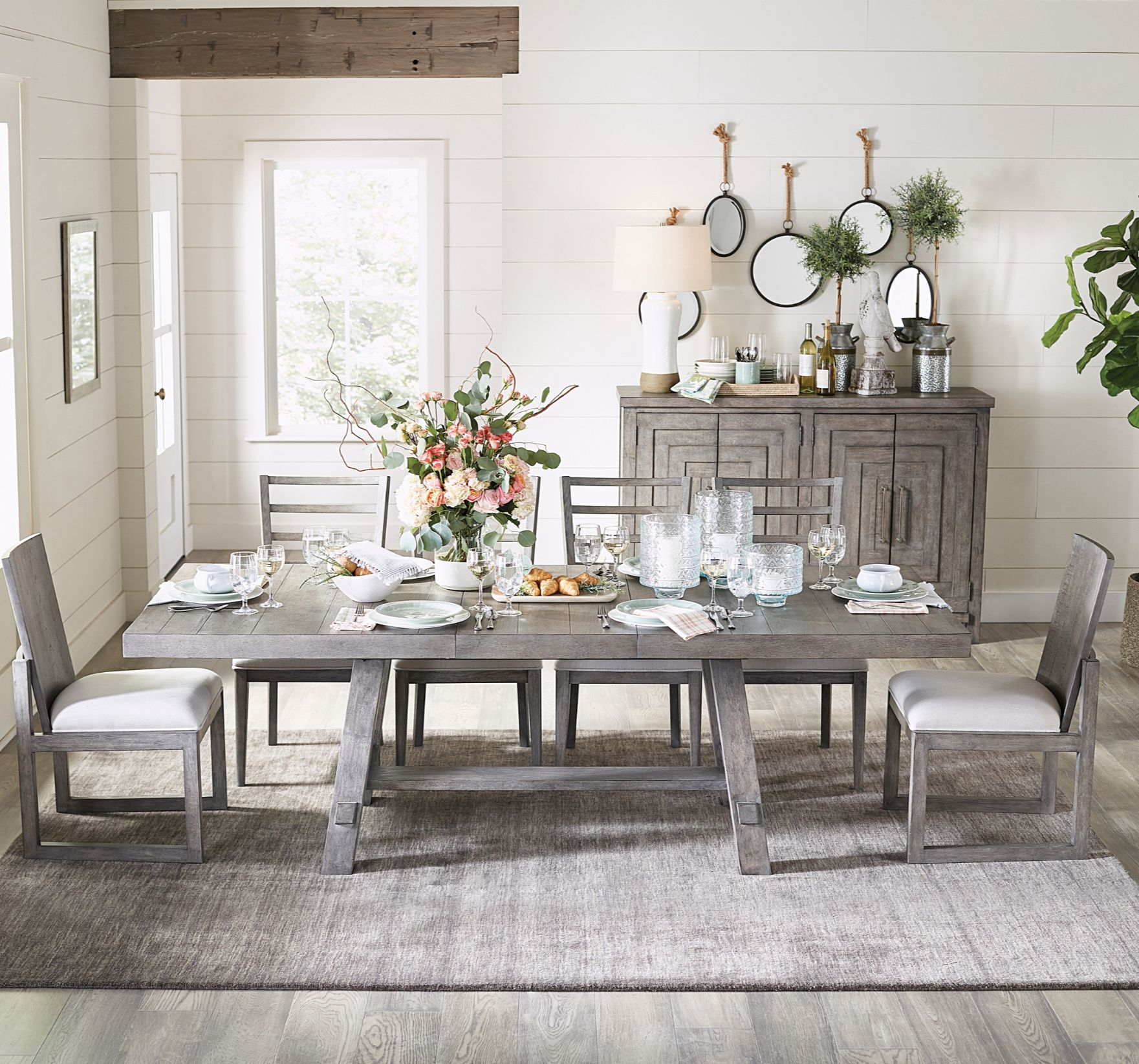 32 Stylish Dining Room Ideas To Impress Your Dinner Guests: Pin On Farmhouse Style
