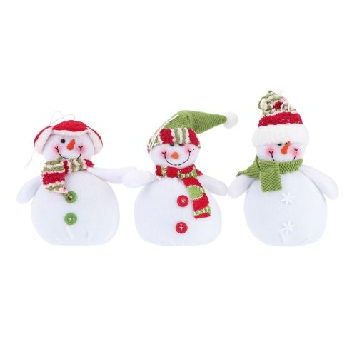 Hot Sale New Style Christmas Snowman Hanging Pieces Christmas - christmas decorations sale