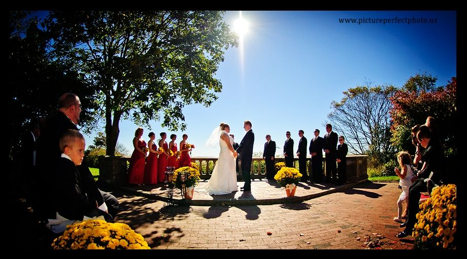 Wedding Ceremony At Harkness Memorial State Park Ct