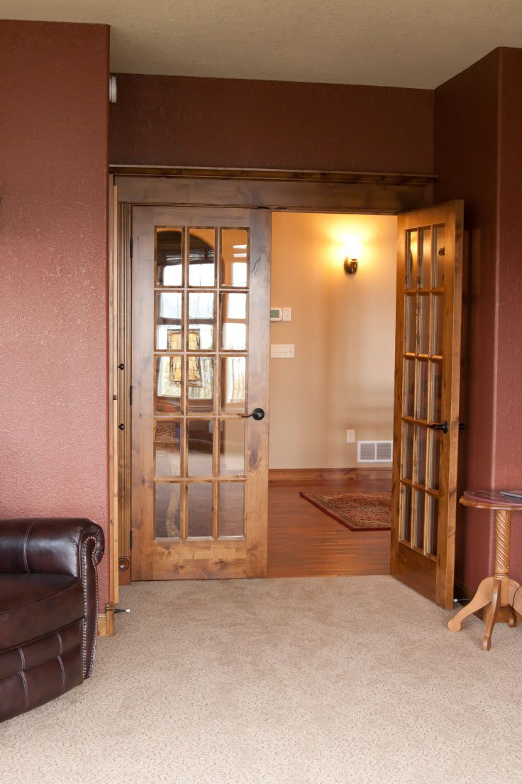 Interior Doors | double French doors leading to an office or den | Bayer Built Woodworks | Interior Doors | Pinterest | Double french doors Interior door ... & Interior Doors | double French doors leading to an office or den ...