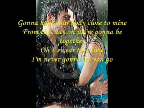 ▷ never gonna let you go LYRICS - YouTube | Films Music & Books