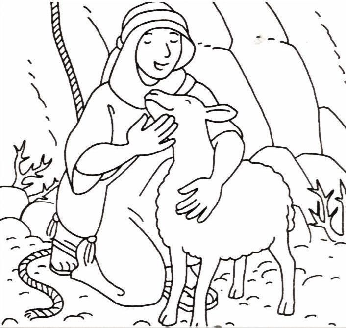 Coloring pages for the lost sheep parable google search