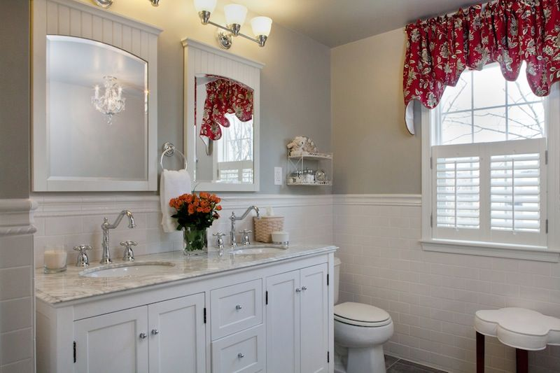 Jenkintown, PA Country Style Bathroom Remodeled By Ferrarini Kitchen And  Bath. Visit Us At
