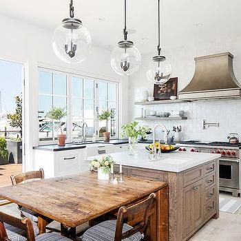 What I Love Wednesday Kelly Nutt Design South Shore Decorating Blog Kitchen Design Cosy Kitchen Kitchen Island Table