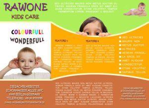 Kids Pre School Tri Fold Brochure Template Free Tri Fold - School brochure template free