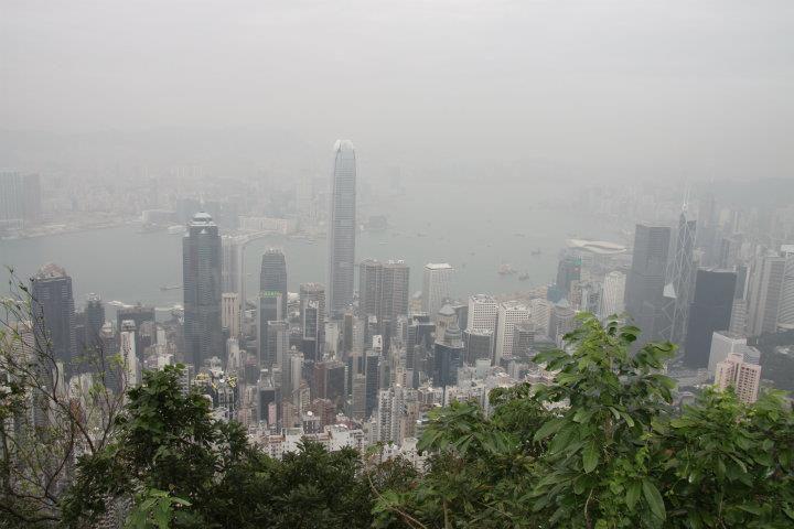 Hong Kong Hights. The Peek