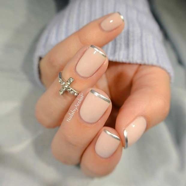 31 Cool French Tip Nail Designs