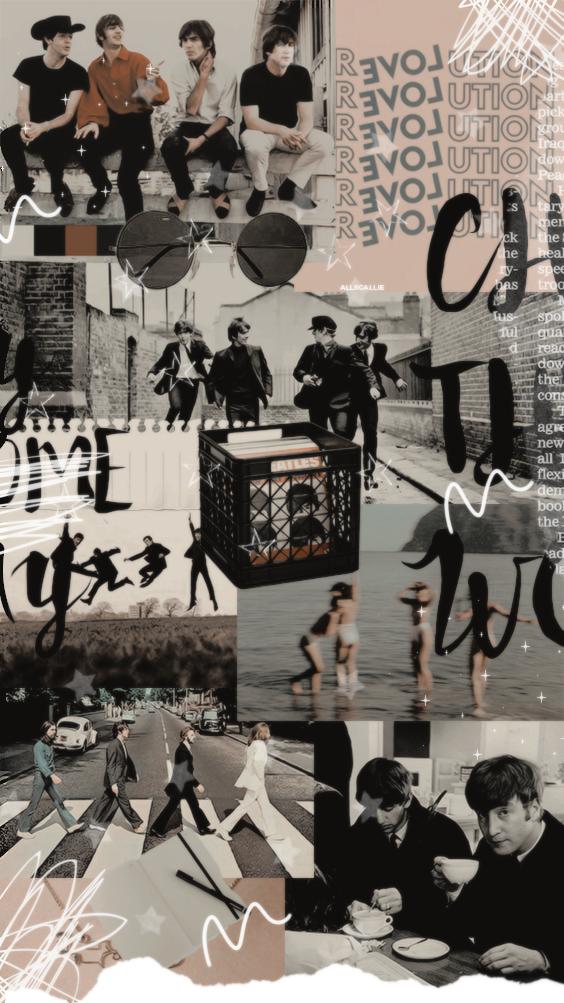Instagram allscallie Beatles wallpaper, The beatles