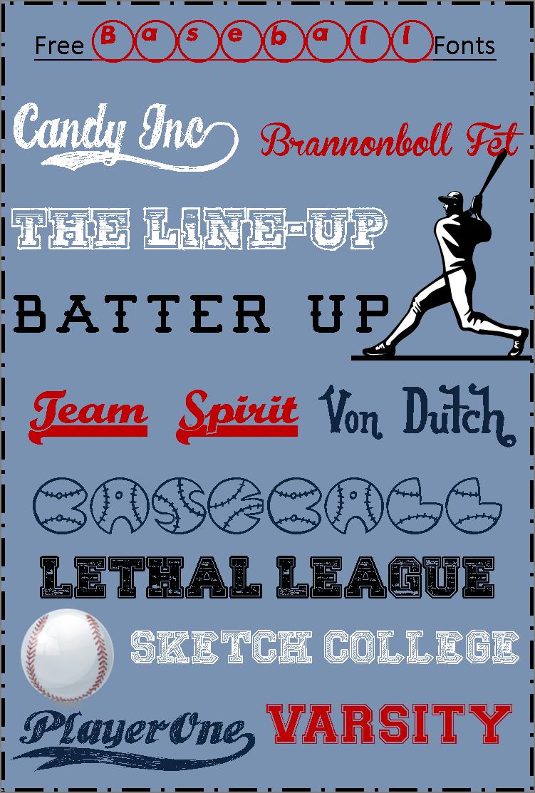 Blogging Basics Free Baseball Fonts Baseball Font Silhouette Fonts Blogging Basics