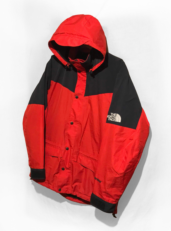 Vintage 90 S The North Face Gore Tex Mountain Light Parka Jacket Ski Coat Yellow Black Size L Parka Jacket Jackets Ski Coat [ 3000 x 2213 Pixel ]