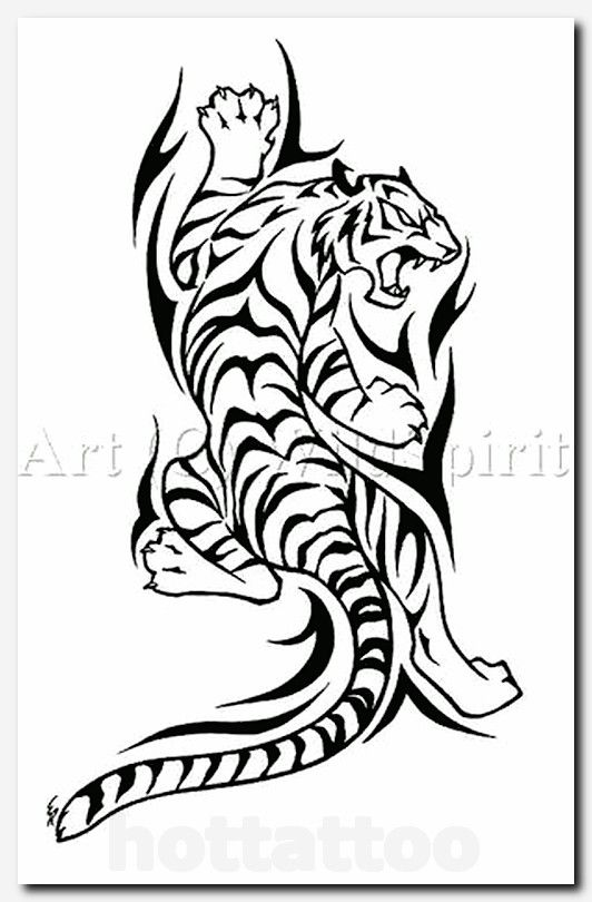 25 Best Ideas About Tribal Tiger Tattoo On Pinterest Tribal Tiger Tattoo Tribal Tiger Tiger Tattoo Design