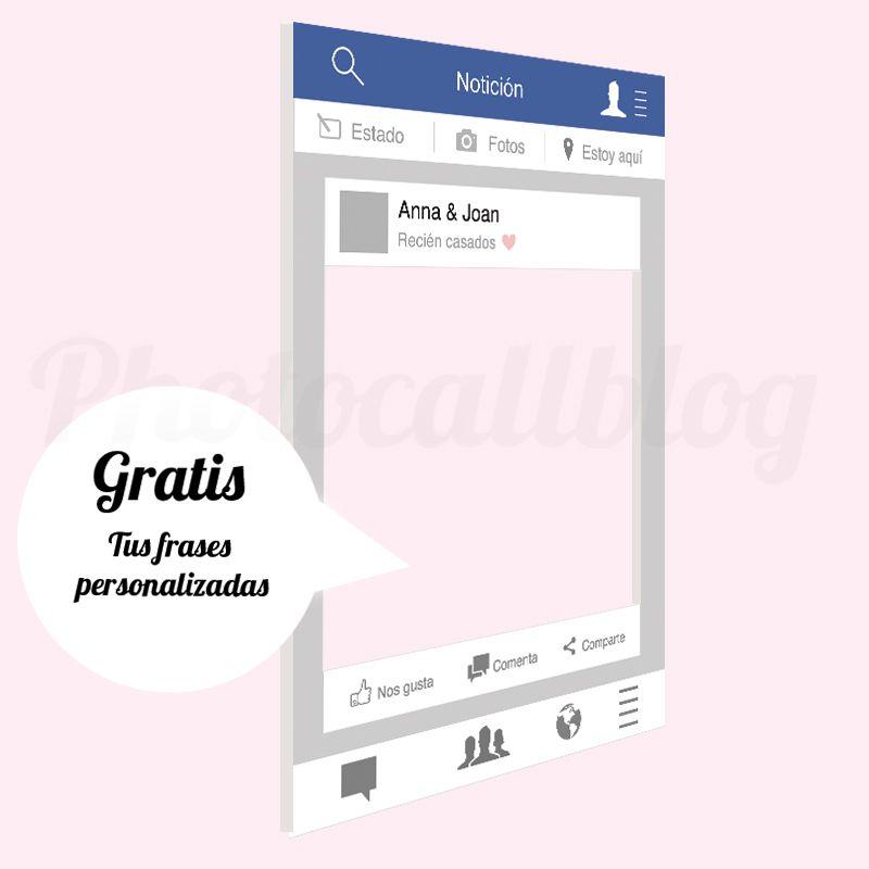 PHOTOCALL MARCO INSTAGRAM PERSONALIZADO | Marcos, Facebook y ...