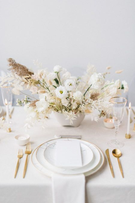 Modern Minimalist Wedding Inspiration That Proves Less Is More