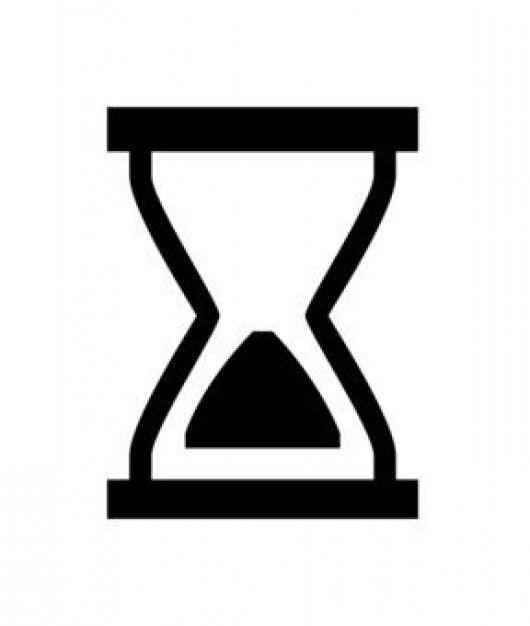 Sanduhr icon  hourglass icon   icons   Pinterest