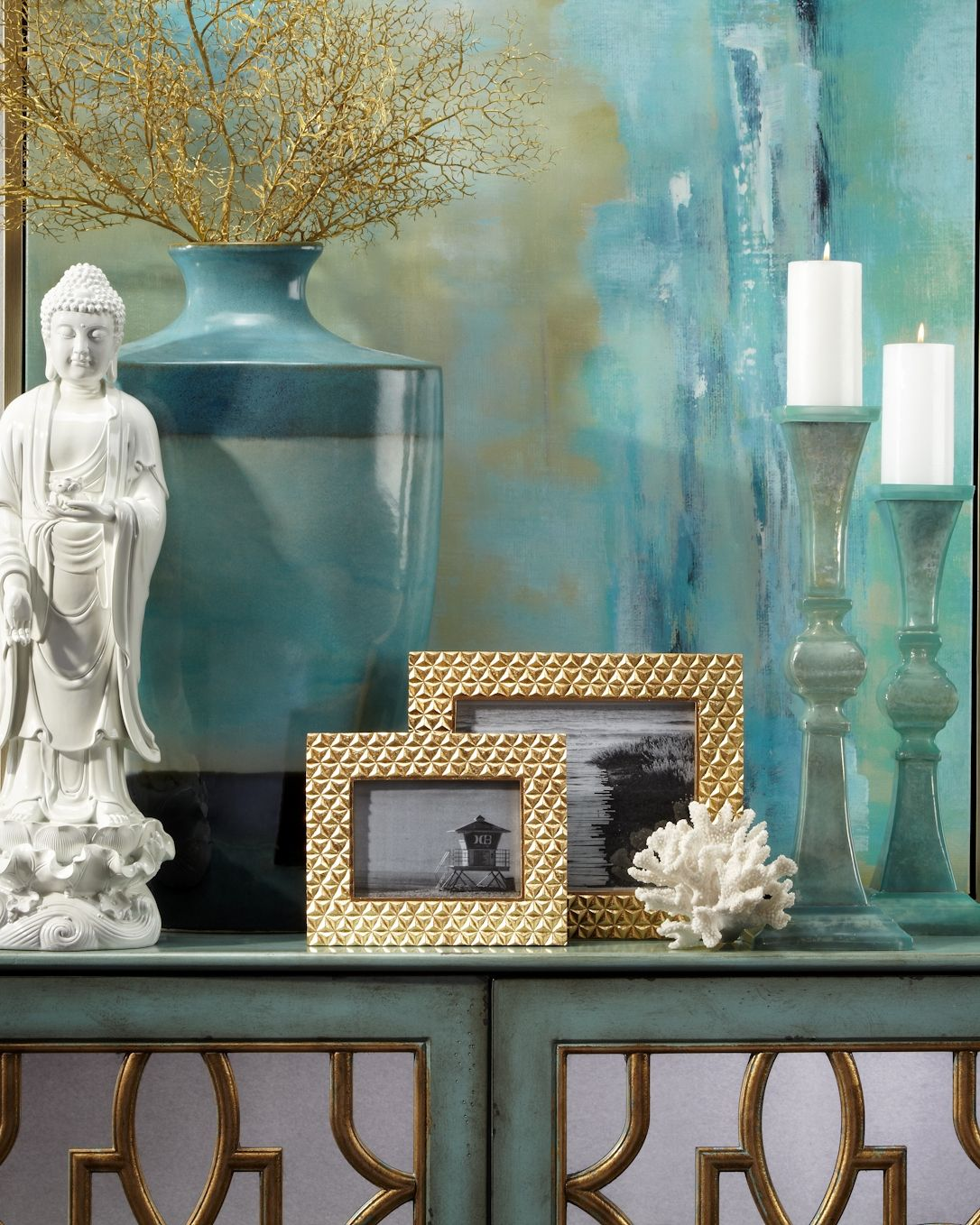 Aquamarine is the most calming refreshing and happy blue shop aqua accents on zgallerie com