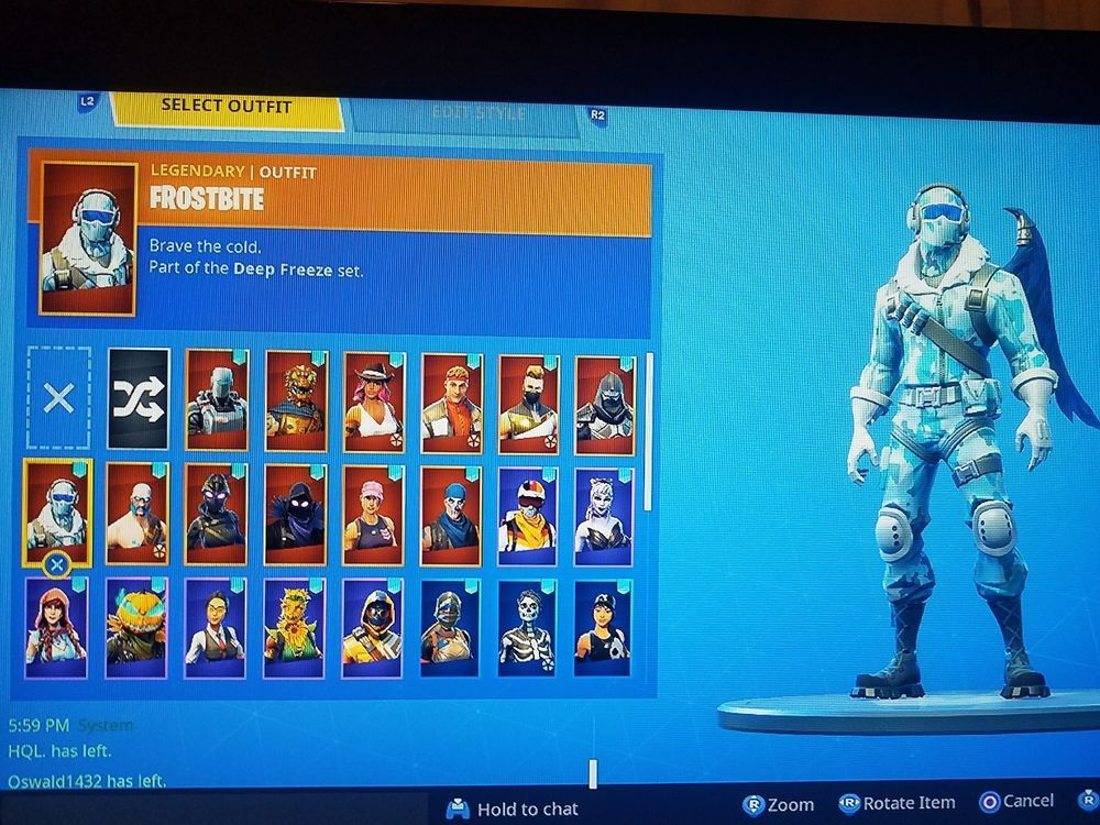 Fortnite Account Epic Deep Freeze Bundle Fortnite