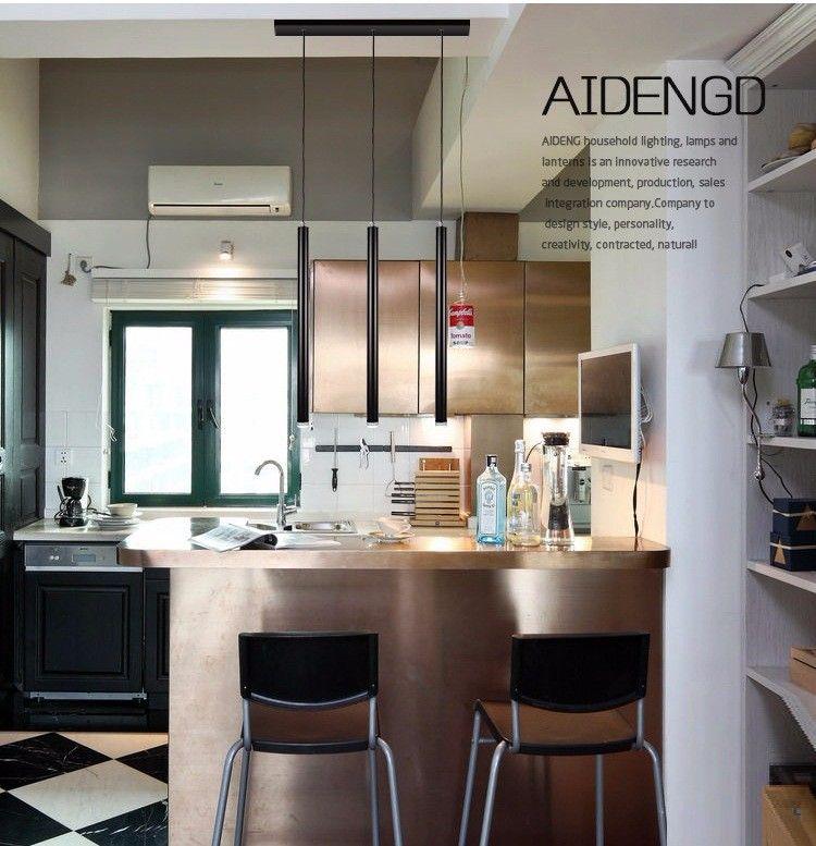 LukLoy Pendant Lights, Modern Kitchen Lamp Dining Room Bar Counter