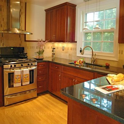 Classic Kitchen with Archway