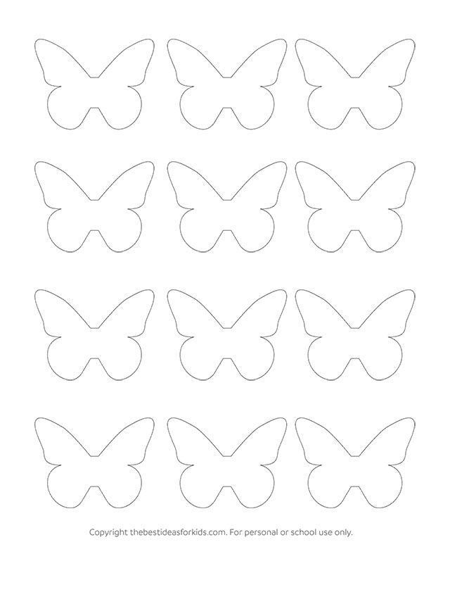 Paper Butterfly Craft Butterfly template, Paper butterflies and