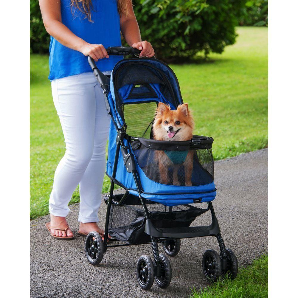 Pet Gear NoZip Happy Trails Pet Stroller