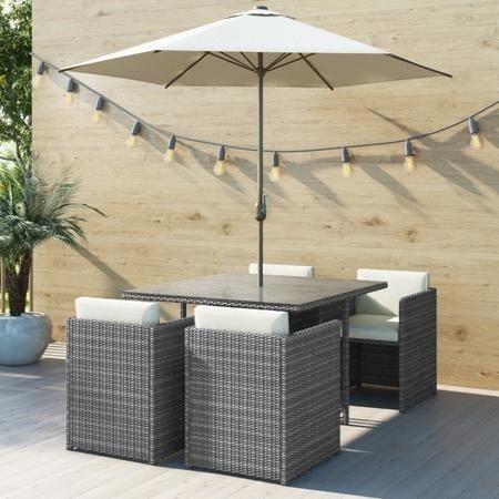 Pin By Judith Robinson On Modern Garden In 2020 Garden Dining Set Rattan Garden Furniture Garden Furniture