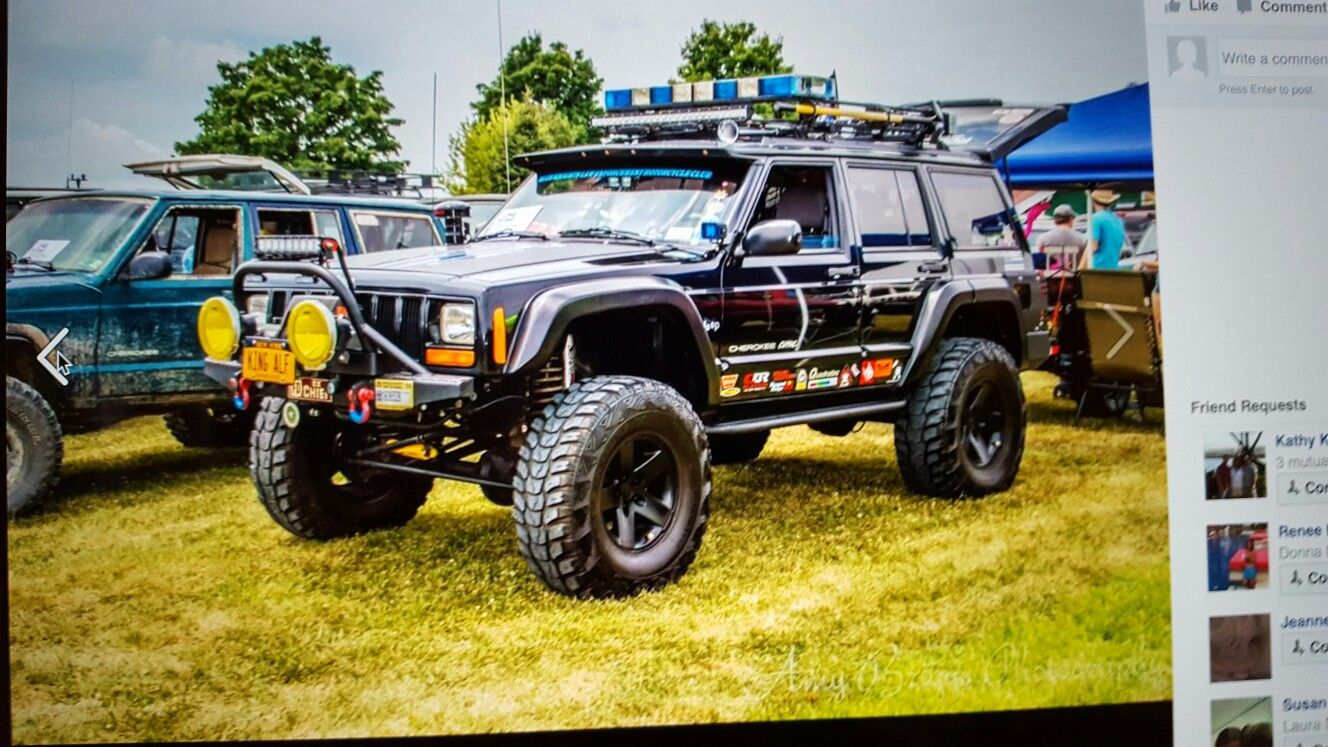 1998 Xj At All Breeds Jeep Show York Pa Jeep Xj Lifted Jeep