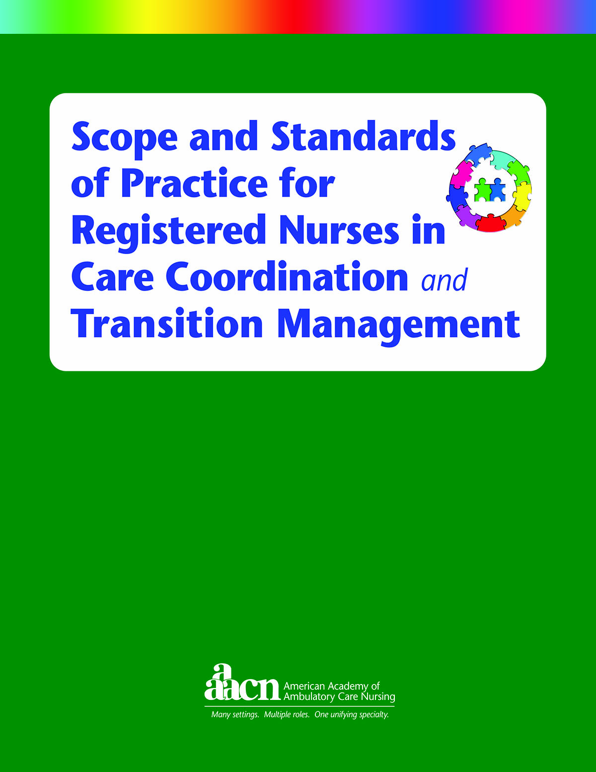 Scope And Standards Of Practice For Registered Nurses In Care