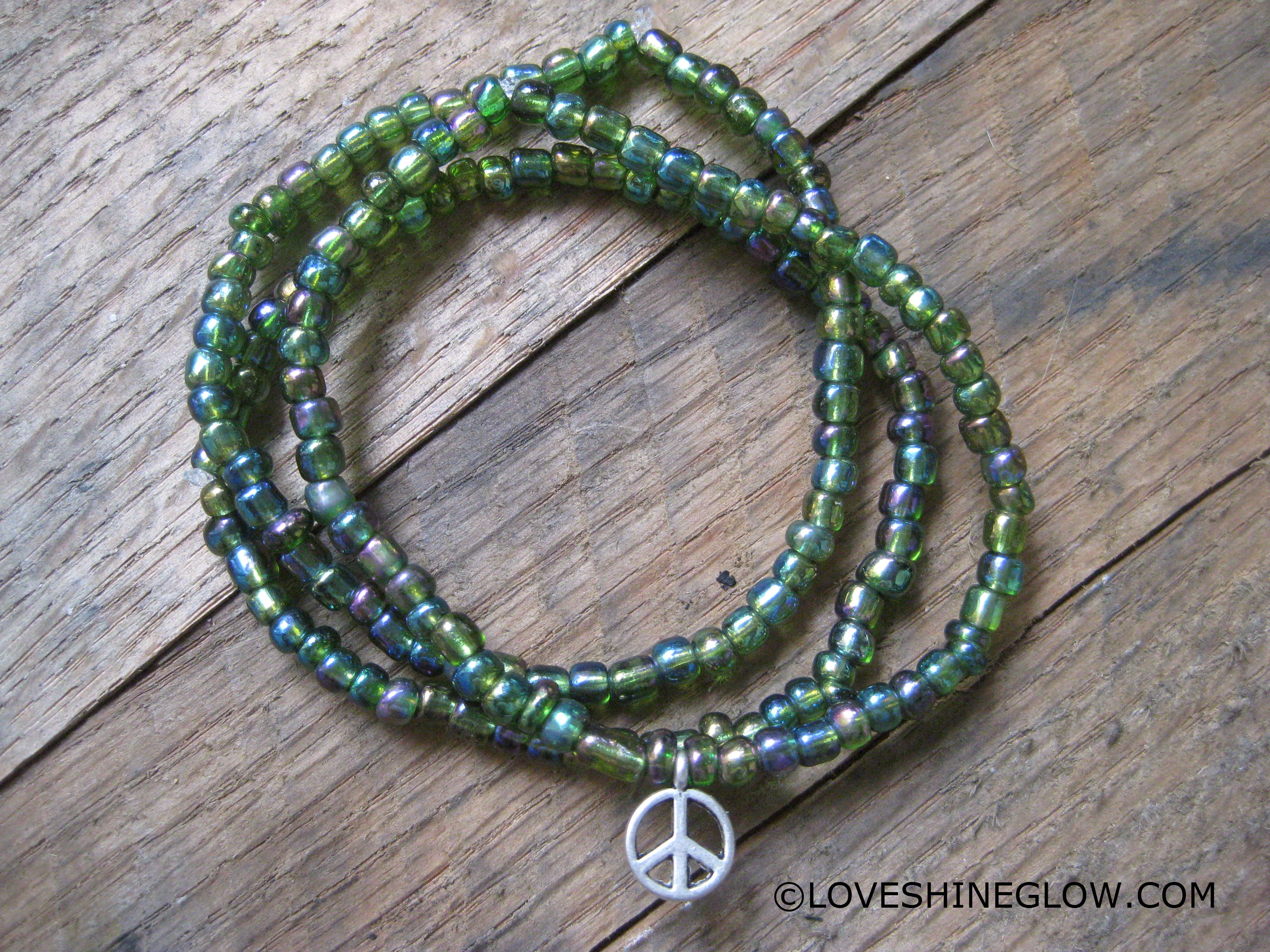 peace beads and turquoise pin brown bracelets bracelet stone sign
