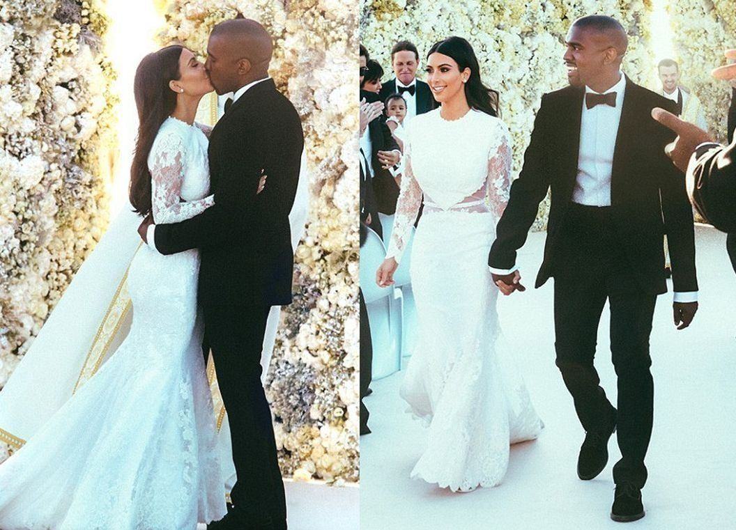 Kim Kardashian and Kanye West tied the knot in Italy this