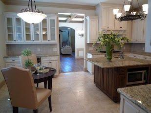 Monticello townhome kitchen