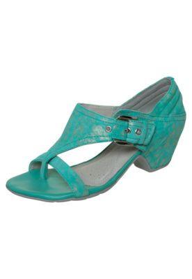 Comfortflex Buckle Sandal Green