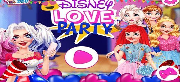 Дисней: Любовная Вечеринка - играть онлайн бесплатно ...