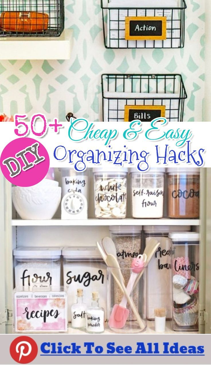 Getting Organized - 50+ Easy Ways To Get Organized at Home and STAY ...