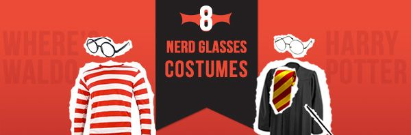 8 Unique Halloween Costumes Ideas for Nerd Glasses