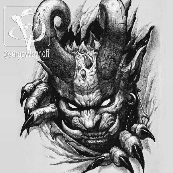 Pin By Enis N H On Tatuajes Demon Tattoo Evil Tattoos Tattoo Design Drawings