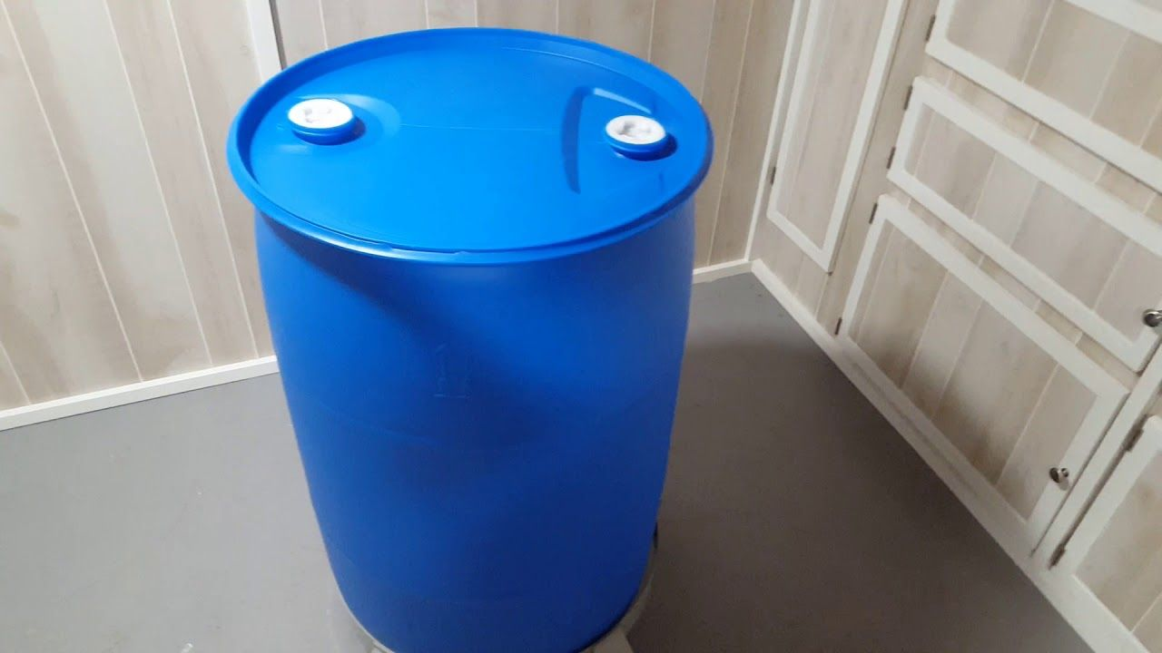 LongTerm Water Storage with 55 Gallon Barrels Water