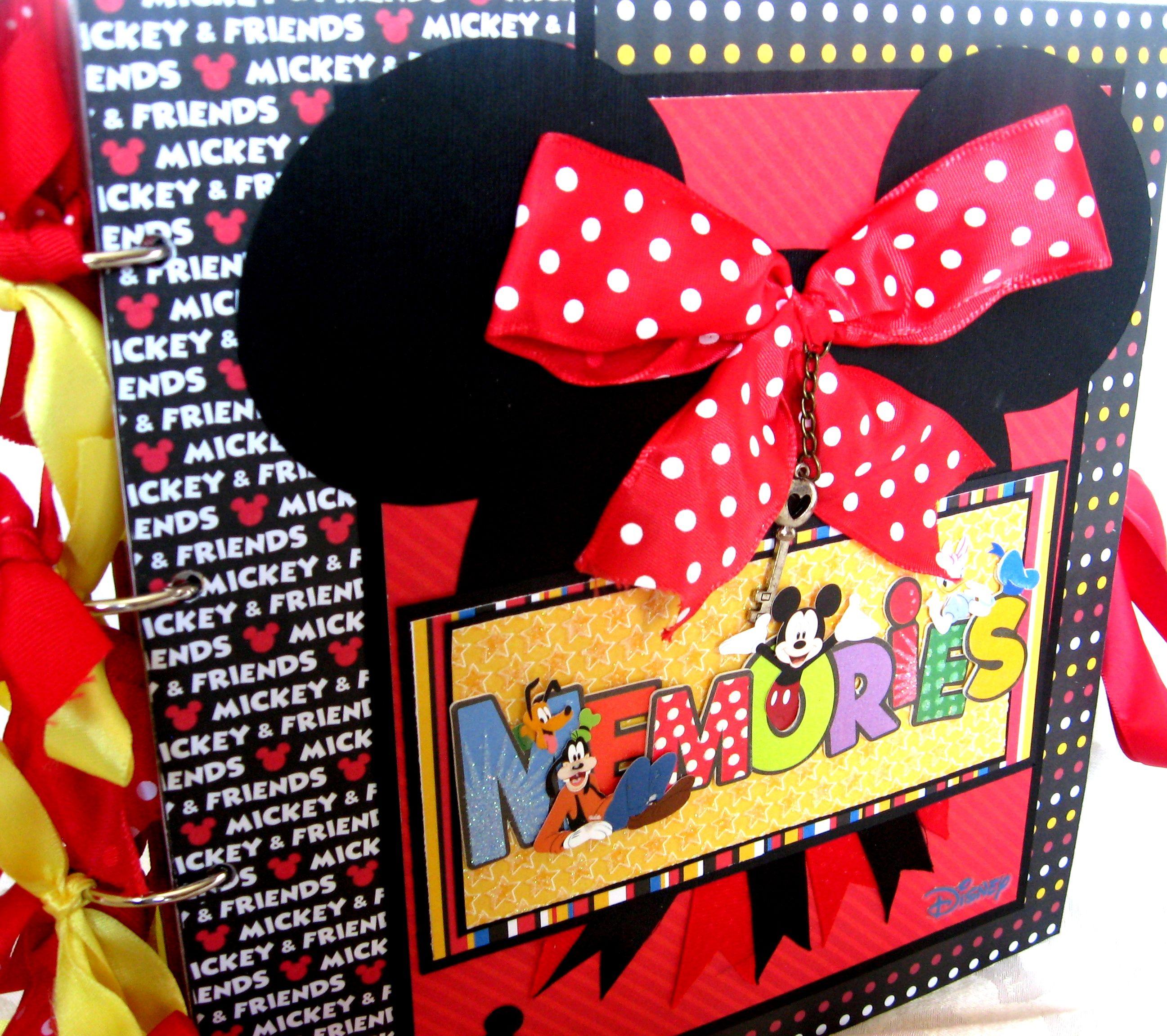 Minnie Mouse Scrapbook Album My Crafts Pinterest Disney
